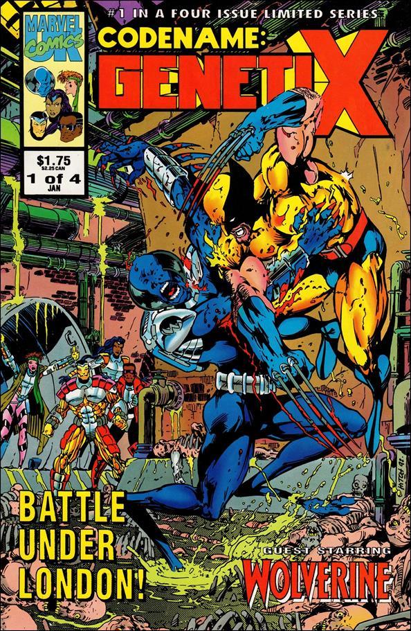 Codename: Genetix (UK) 1-A by Marvel UK