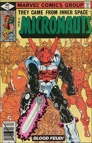 Micronauts (1979) 12-A by Marvel