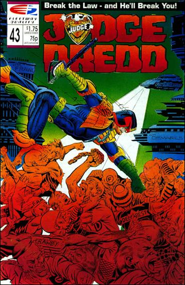 Judge Dredd (1986) 43-A by Quality Comics