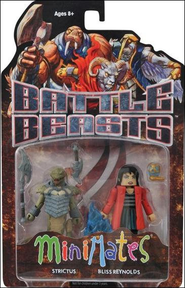 Battle Beasts Minimates Strictus and Bliss Reynolds by Diamond Select