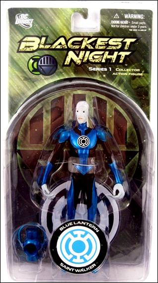 Blackest Night (Series 1) Blue Lantern Saint Walker by DC Direct