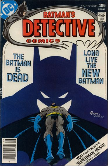 Detective Comics (1937) 472-A by DC