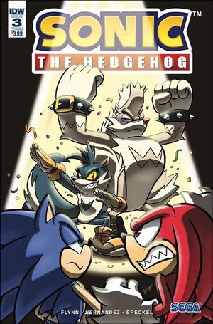 Sonic the Hedgehog (2018) 3-B