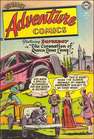 Adventure Comics (1938) 192-A by DC