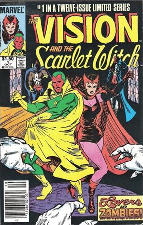 Vision and the Scarlet Witch (1985) 1-B