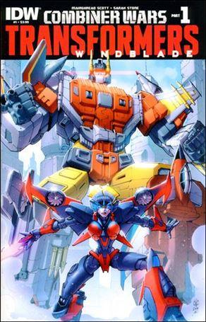 Transformers: Windblade (2015) 1-A