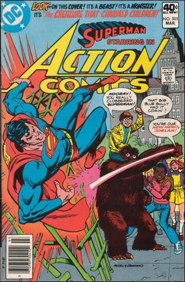 Action Comics (1938) 505-A by DC