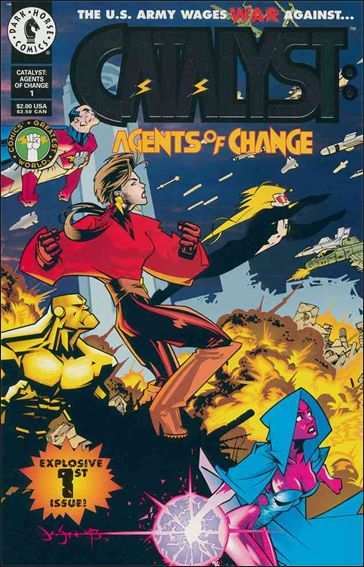 Catalyst: Agents of Change 1-A by Dark Horse