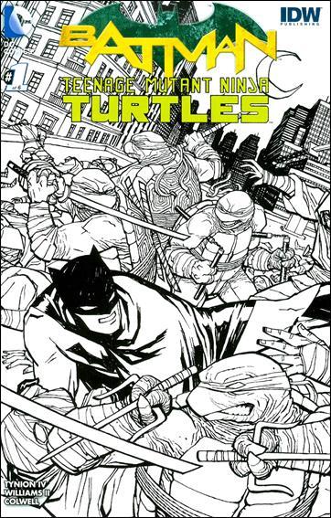 Batman/Teenage Mutant Ninja Turtles 1-MQ