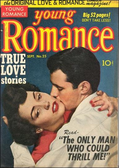 Young Romance (1947) 25-A by Prize