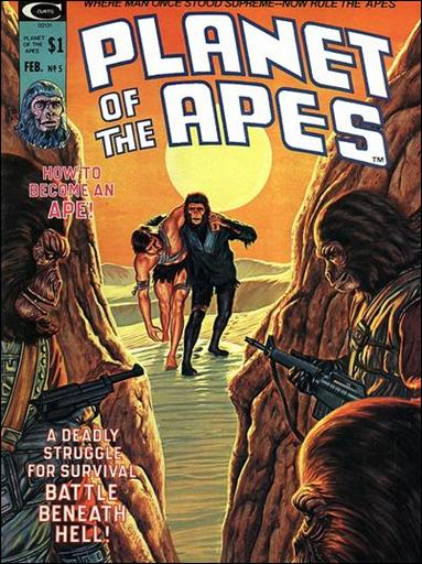 Planet of the Apes (1974) 5-A by Marvel