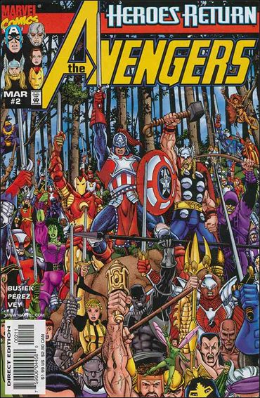 Avengers (1998) 2-A by Marvel