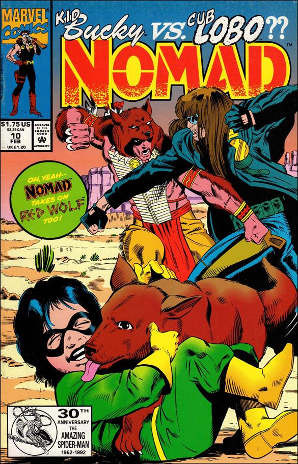 Nomad (1992) 10-A by Marvel