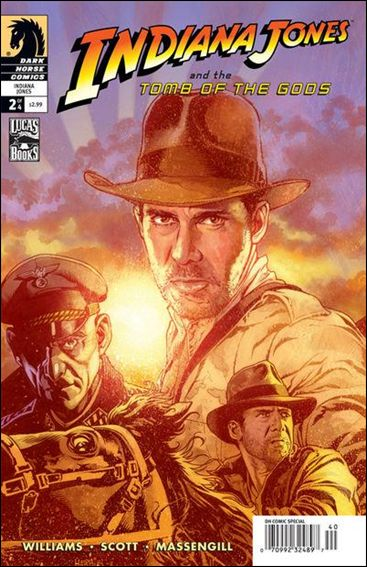 Indiana Jones and the Tomb of the Gods 2-A by Dark Horse