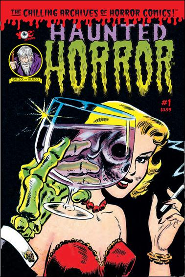 Haunted Horror 1-A by IDW