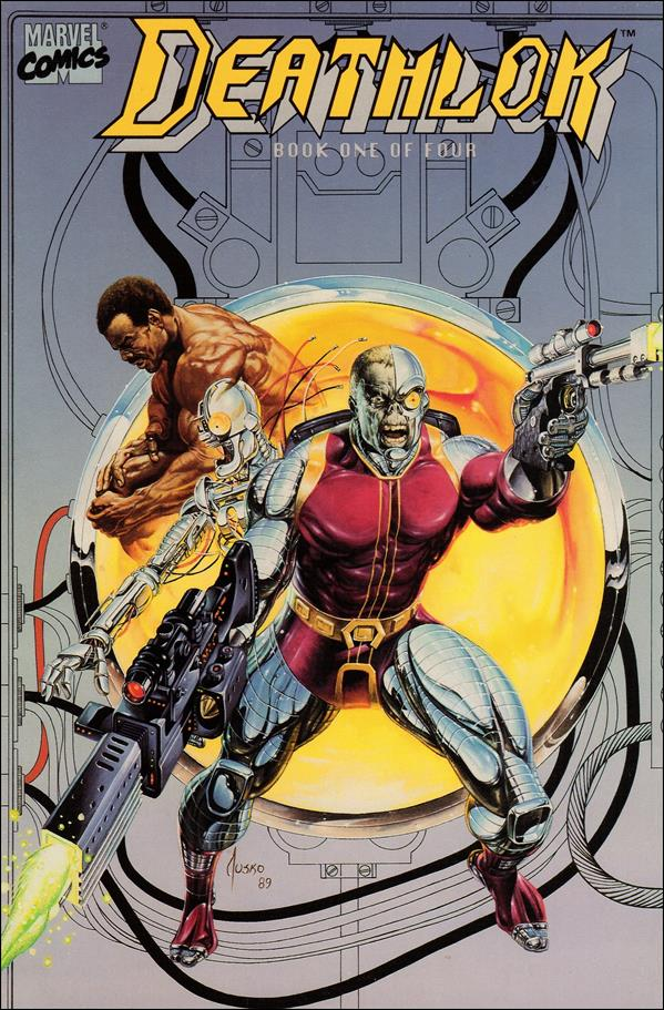 Deathlok (1990) 1-A by Marvel