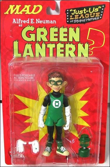 Just-Us League of Stupid Heroes Alred E. Neuman as Green Lantern by DC Direct