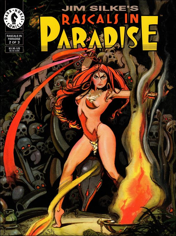 Rascals in Paradise 2-A by Dark Horse