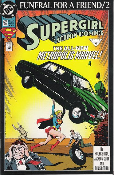 Action Comics (1938) 685-C by DC