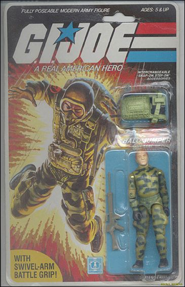 "G.I. Joe: A Real American Hero 3 3/4"" Basic Action Figures Rip Cord (HALO Jumper)  by Hasbro"