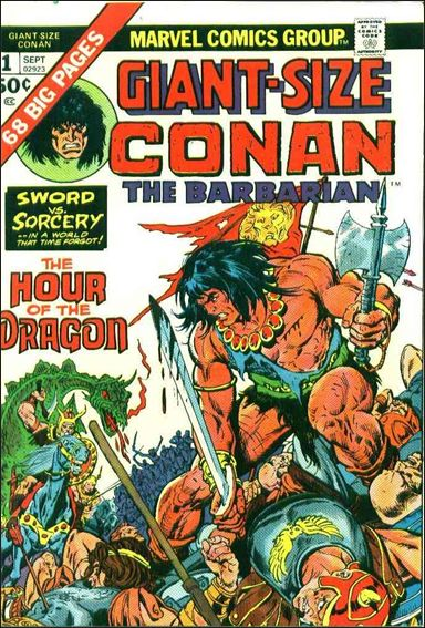 Giant-Size Conan 1-A by Marvel