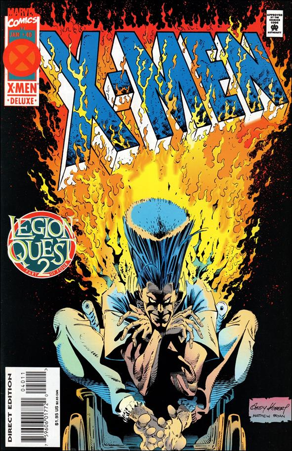 X-Men (1991) 40-A by Marvel
