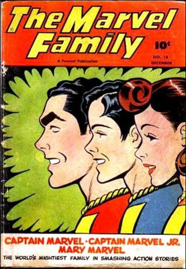 Marvel Family 18-A by Fawcett