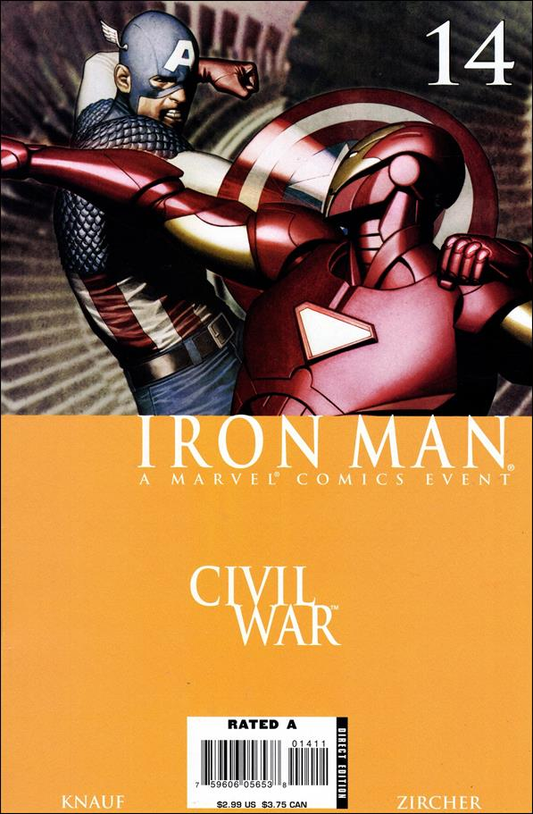 Invincible Iron Man (2005) 14-A by Marvel