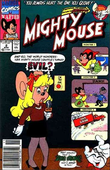Mighty Mouse (1990) 2-A by Marvel