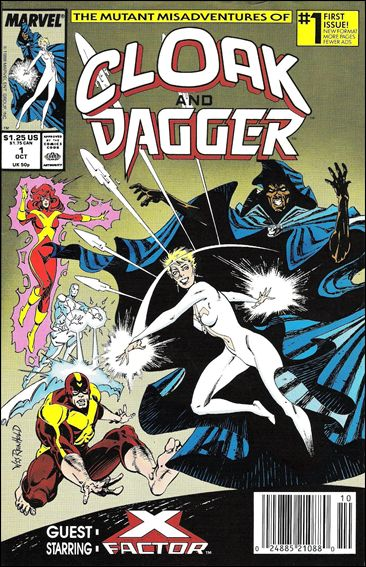 Mutant Misadventures of Cloak and Dagger 1-A by Marvel