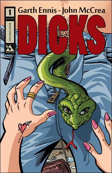 Dicks (2012) 1-B by Avatar Press