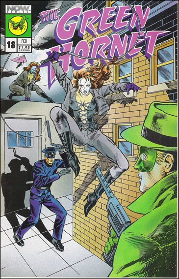 Green Hornet (1991) 18-A by Now Comics