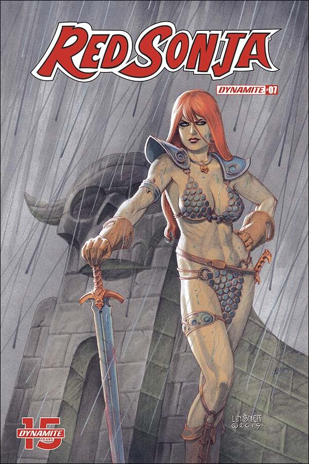 Red Sonja (2019) 7-B by Dynamite Entertainment