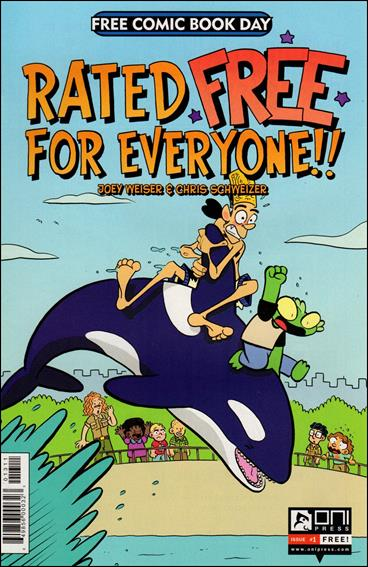 Rated Free For Everyone 2013-A by Oni Press