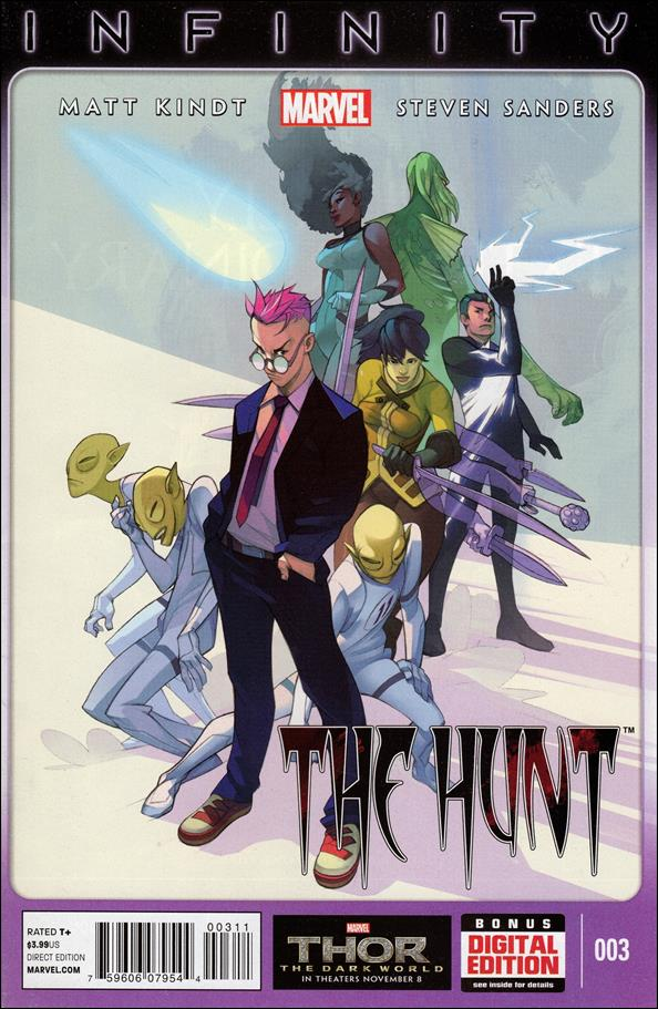 Infinity: The Hunt 3-A by Marvel