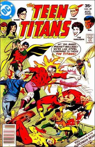 Teen Titans (1966) 49-A by DC
