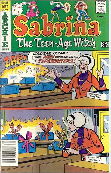 Sabrina the Teenage Witch (1971) 45-A by Archie