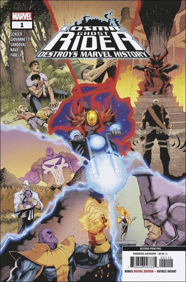 Cosmic Ghost Rider Destroys Marvel History 1-F by Marvel