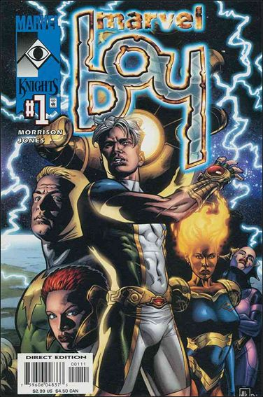 Marvel Boy (2000) 1-A by Marvel