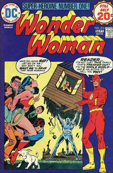 Wonder Woman (1942) 213-A by DC