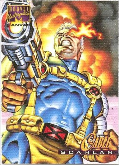 1995 Marvel Masterpieces (Canvas Subset) 4-A by Fleer