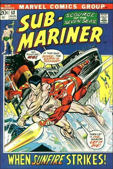 Sub-Mariner (1968) 52-A by Marvel
