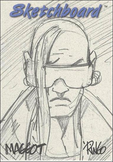 Marvel Creators Collection '98 (Sketchboard Subset) 14-C by Fleer/SkyBox