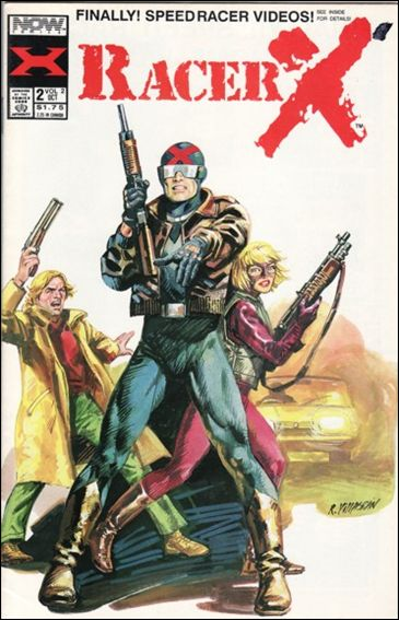 Racer X (1989) 2-A by Now Comics