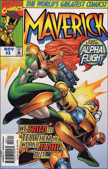 Maverick (1997/09) 3-A by Marvel