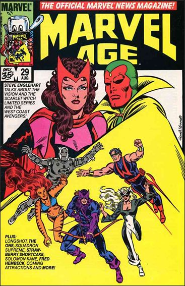 Marvel Age 29-A by Marvel