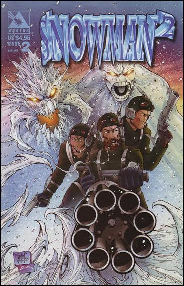 Snowman Squared 2-B by Avatar Press