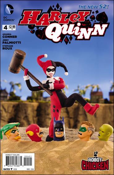 Harley Quinn (2014) 4-B by DC