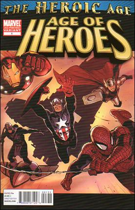 Age of Heroes (2010) 1-C by Marvel