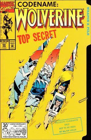 Wolverine (1988)  50-A